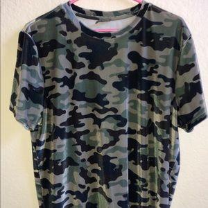 Velvet camo t shirt